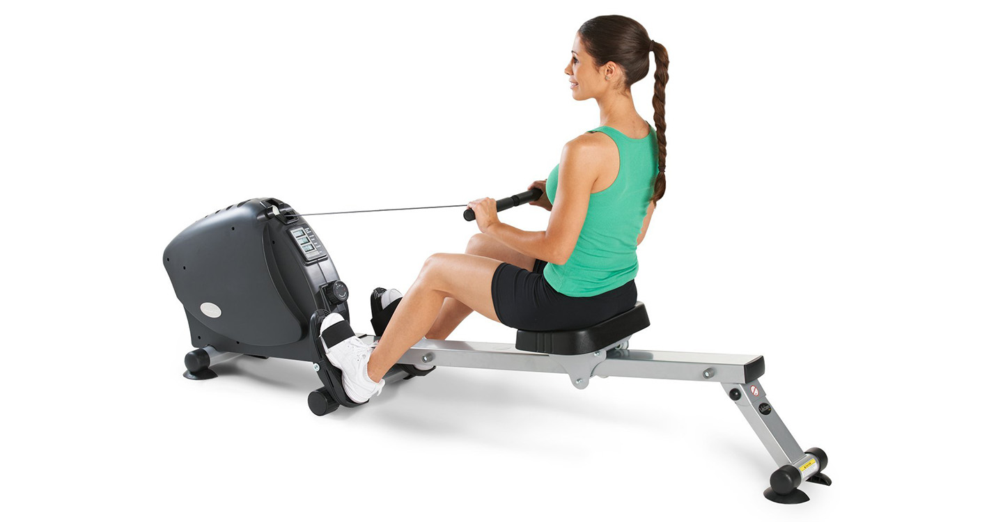 health fitness sit up rowing machine